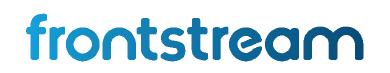 frontstream logo